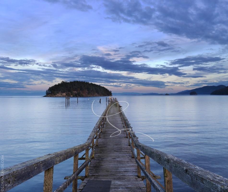 Bennet Bay, Mayne Island, BC Canada