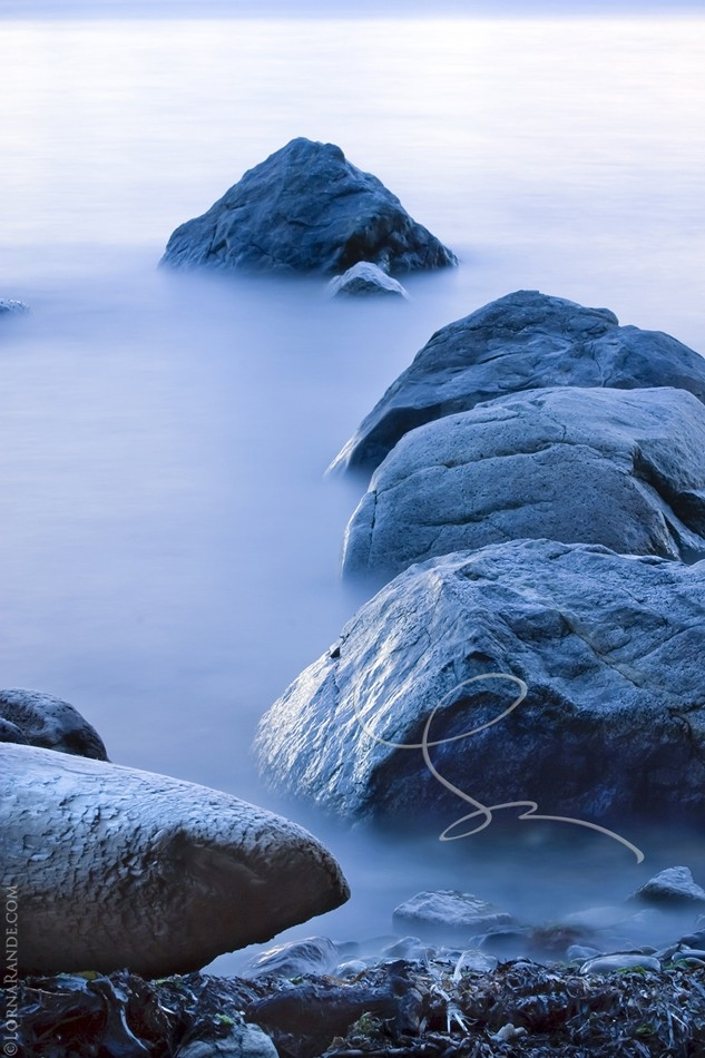 Twilight Water -'Selected for Exhibition' PPOC 2009. Crescent Beach, Surrey, BC Canada