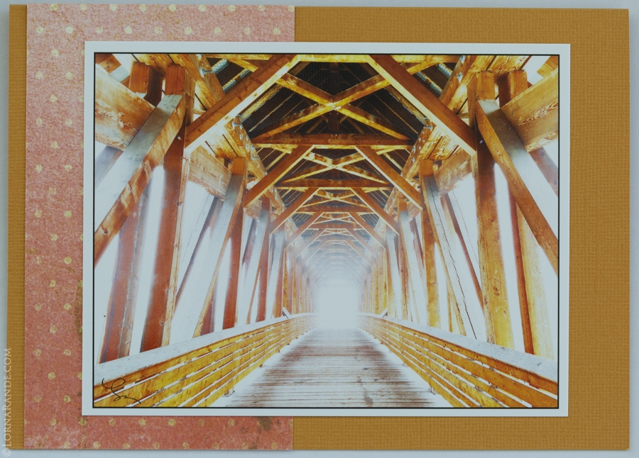 'Bridge in Fog' Golden, BC