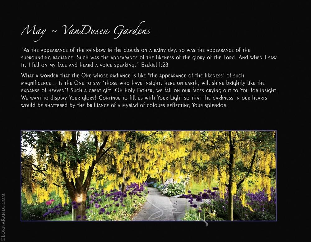 May - VanDusen Gardens, Vancouver, BC
