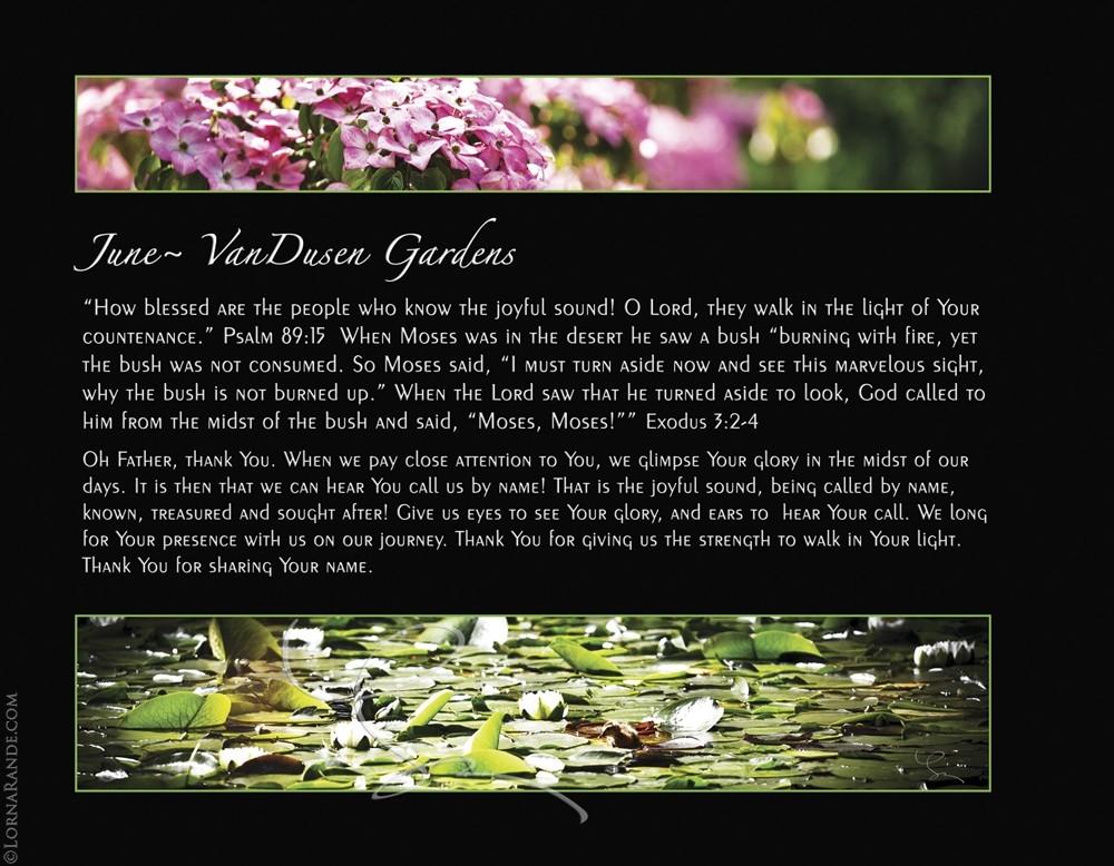June - VanDusen Gardens