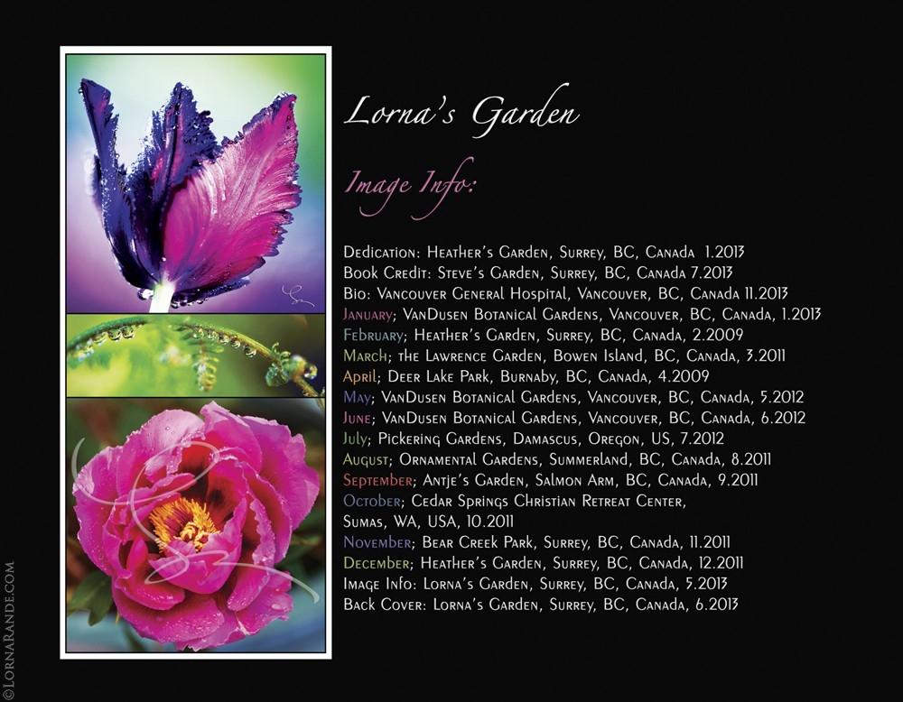Garden Location Information - Lorna's Garden, Surrey, BC Canada