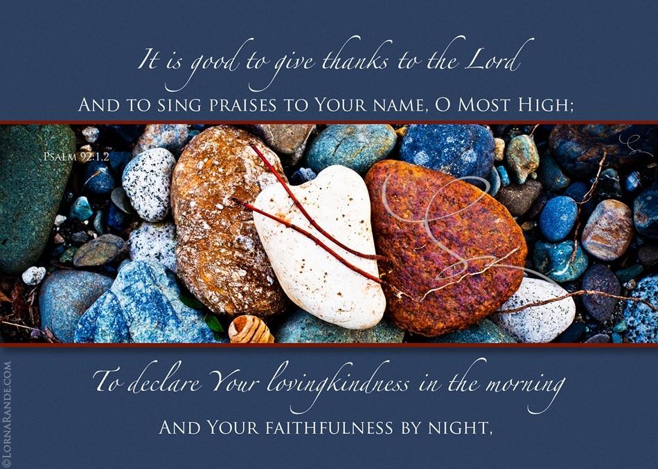 Psalm 91:1-2 - Chilliwack, BC Canada