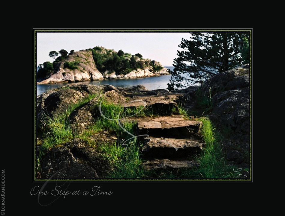 One Step at a Time - Whytecliff Park, Horseshoe Bay, BC Canada