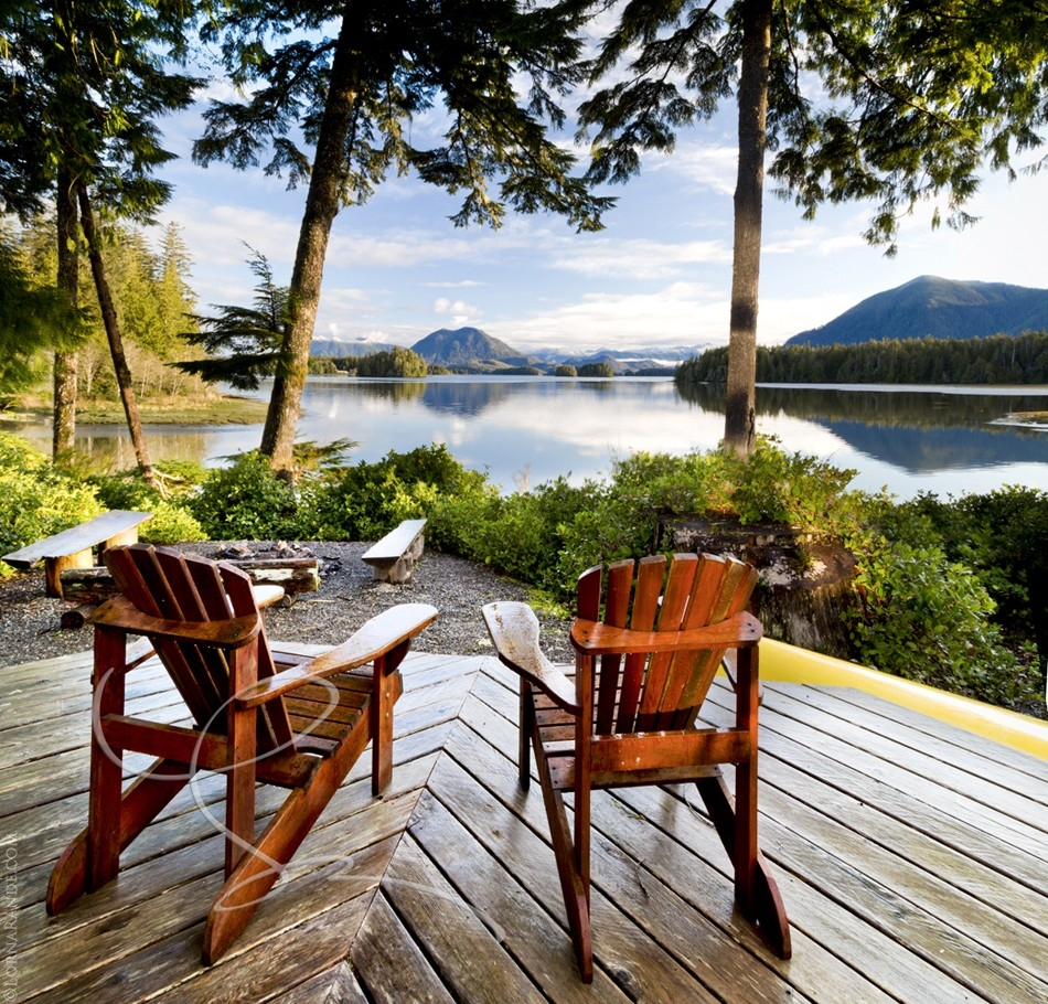 Chalet, Jensens Bay, Tofino, BC Canada