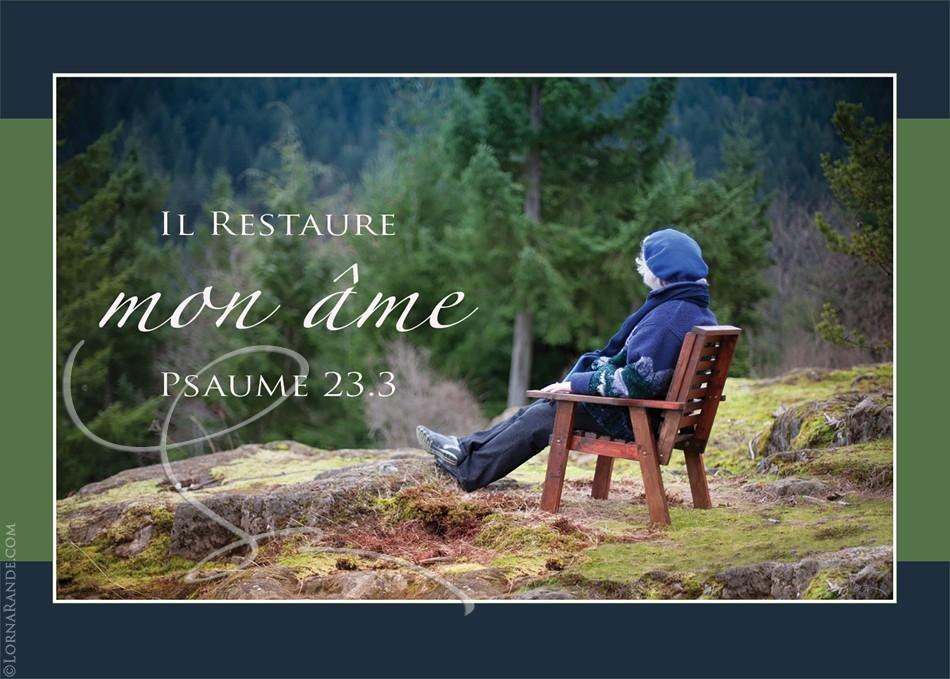 Psaume 23.3 - Bowen Island, BC Canada