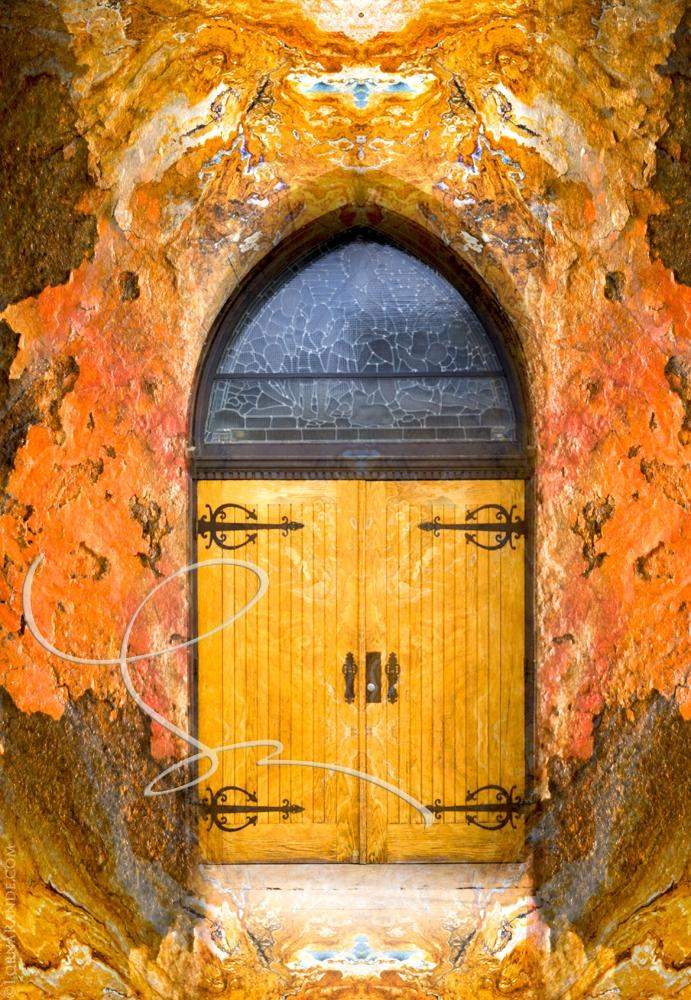 'Anglican Door' Calgary, AB