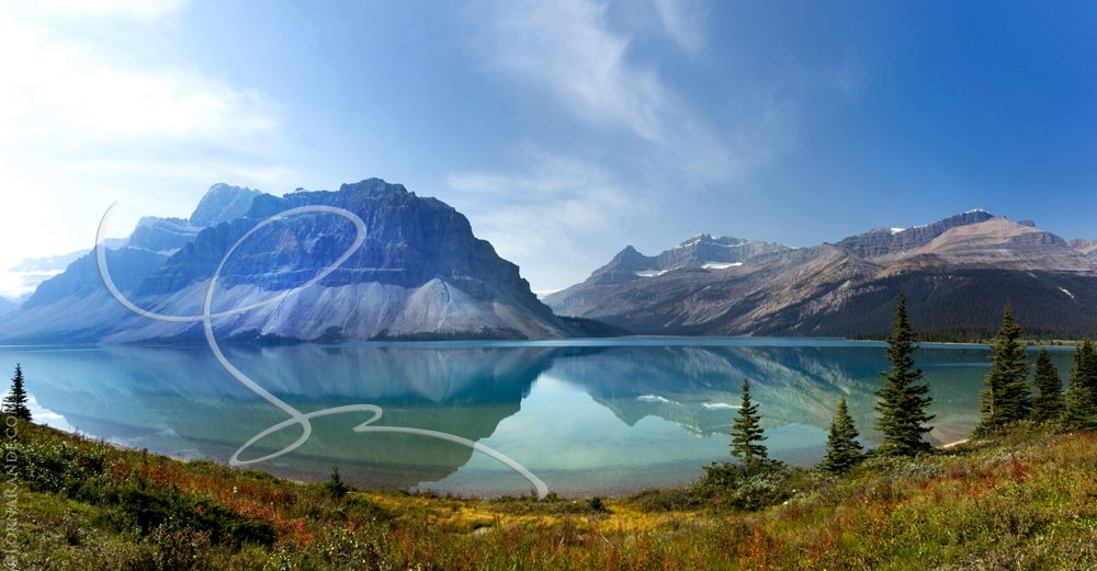 'Mountain Lake' Icefields, AB