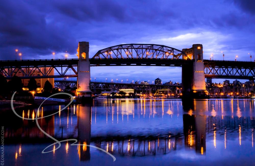'Burrard Street Bridge' Vancouver, BC