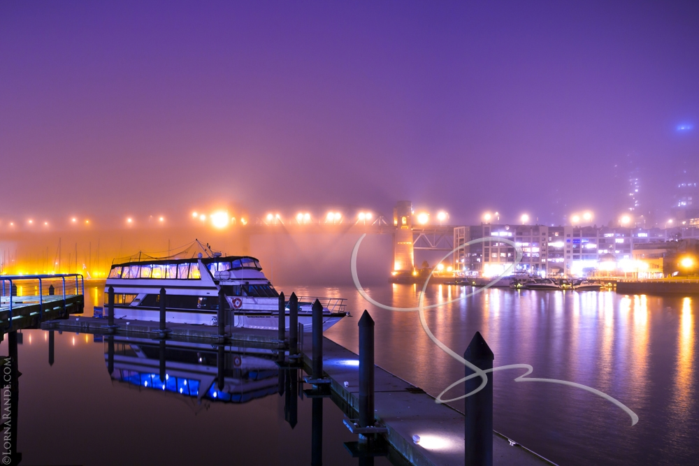 'Fog on Fire' Granville Island, Vancouver, BC